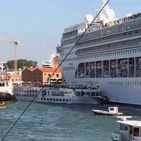 Incidente navale a Venezia